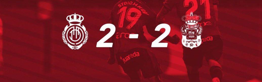Real Mallorca 2 - 2 Las Palmas